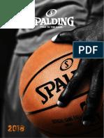 Spalding Katalog-2018