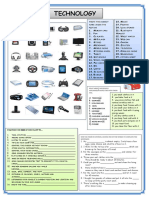 english worksheet technology