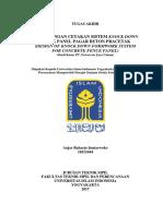 Perancangan Cetakan Sistem Knock Down Untuk Panel Pagar Pracetak (Studi Kasus PT. Powercon Jaya Utama)