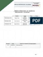 PO-SIG-001 Diseño de Perf y Voladura
