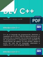 DEV C++ (INTRODUCCIÓN)