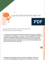 Las Diciplinas Filosicas