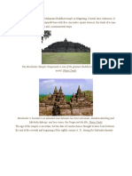 The Borobudur Temple is a Mahayana Buddhist Temple in Magelang