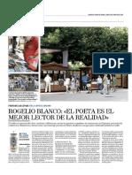 'Tierra de nadie en la 11ª Feria Expoesía de Soria. 'Heraldo-Diario de Soria' (06.08.2018)