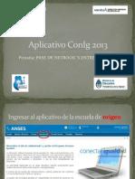Aplicativo ConIg 2013 - Pases.pptx