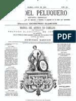Guía Del Peluquero y Barbero. 1-6-1880