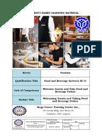 CBLM- Provide Valet-Butler Service - Edison Gabrido