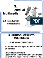 5.1 - Introduction to Multimedia