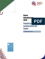 Curso Introductorio - Planificación en Instituciones de Salud.