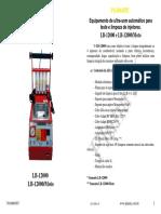 Máquina Ultrassom para Teste e Limpeza de Injetores Planatc LB-12000