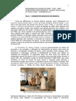 APOSTILA I - MÚSICA ANTIGA - CONCEITOS BÁSICOS