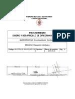 Diseño y Derarrollo de Directivas y Planes