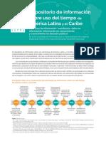 Repositorio de Informacion Sobre Uso Del Tiempo de America Latina y El Caribe