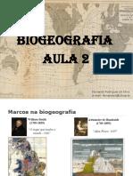 Aula 2 - Fundações Geográficas e Ecológicas Da Biogeografia