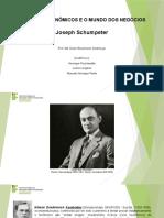 Joseph Schumpeter Final