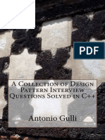 [A Collection of Programming Interview Questions 4] Dr Antonio Gulli - A Collection of Design Pattern Interview Questions Solved in C++ (2014, CreateSpace Independent Publishing Platform)