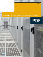 SAP HANA Vora Installation Developer Guide En