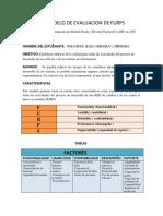Modelo de Evaluación de Furps