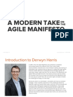 A Modern Take on the Agile Manifesto