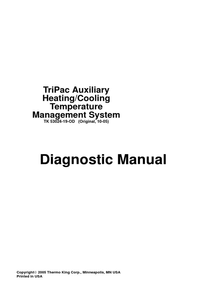 Thermo King Apu Diagnostic Software