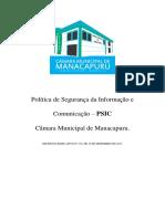 Politica de Seguranca Da Informacao e Comunicacao a PSIC.