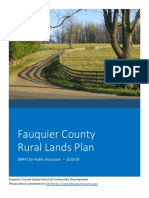 Fauquier County Rural Lands Plan Draft