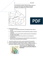 Limites y Fronterasa de Uruguay