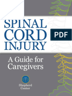 Spinal Cord Injury Caregiver Guide