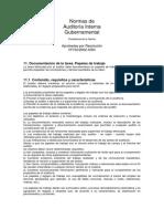 Normas de Auditoría Interna (SIGEN)