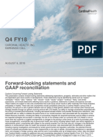 Cardinal Q4 FY18 Earnings Deck