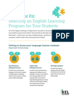 Selecting an English Learning Program for Your Students