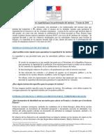Turismo en Francia - Medidas de Seguridad