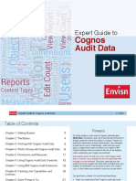 Expert Guide to Cognos Audit Data