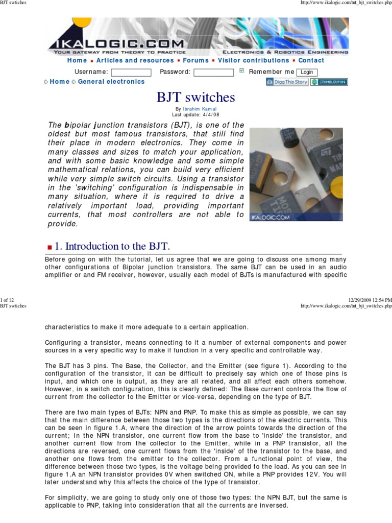 Bjt Swtiches Bipolar Junction Transistor Help With Npn Relay Circuit Electronics Forum Circuits