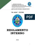 Reglamento Interno Alba Potoni