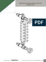 Indicador de Nivel Visual Reflex Modelo R20