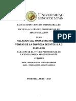 Marco Teorico y Conclusiones Tesis Ucv
