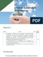 Sustainable Engineering