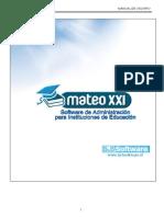 Manual Mateo XXI