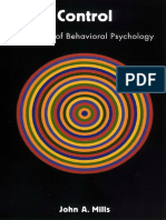 John Mills - Control_ A History of Behavioral Psychology (1998, NYU Press).pdf
