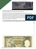 4 Jenis Uang Rupiah Kuno Termahal Yang Harganya Bikin Pingsan _ Boombastis