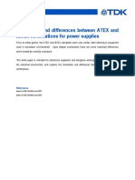 Similarities and Differences Between ATEX and IECEx Certifications for Power Supplies