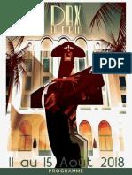 Feria de Dax : le programme 2018
