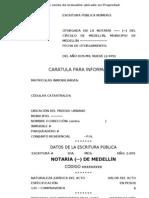 Formato de Escritura de Propiedad en PH