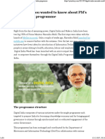 Everything You Wanted to Know About PM's Digital India Programme