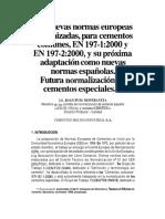 Las Nuevas Normas Europeas Armonizadas Para Cementos Comunes (1)