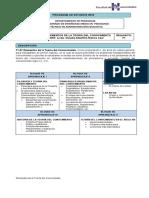 Elementos de La Teoría Del Conocimiento - Programa Resumen