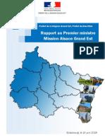 Rapport Au Premier Ministre - Mission Alsace Grand Est - VF