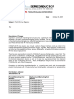 PCN050740 - PSoC Pb-Free Migration