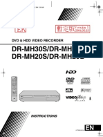 Jvc Dr Mh20s